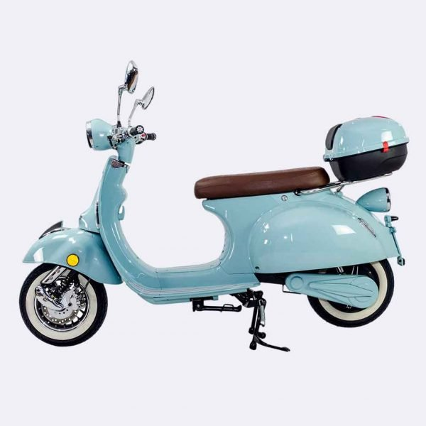 Retro Electric Moped