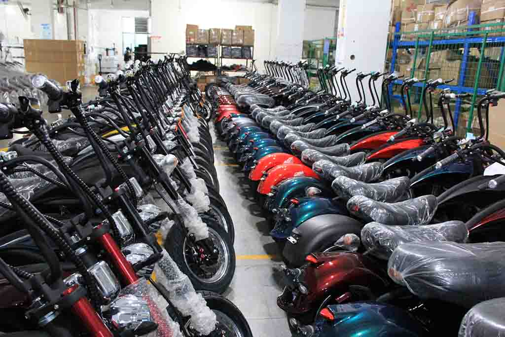 Electric Harley Scooter factory