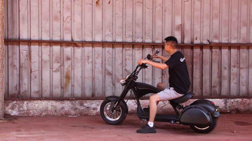 fat tire e scooter